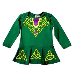 Traditional Craftwear Baby Green Irish Dancer Dress