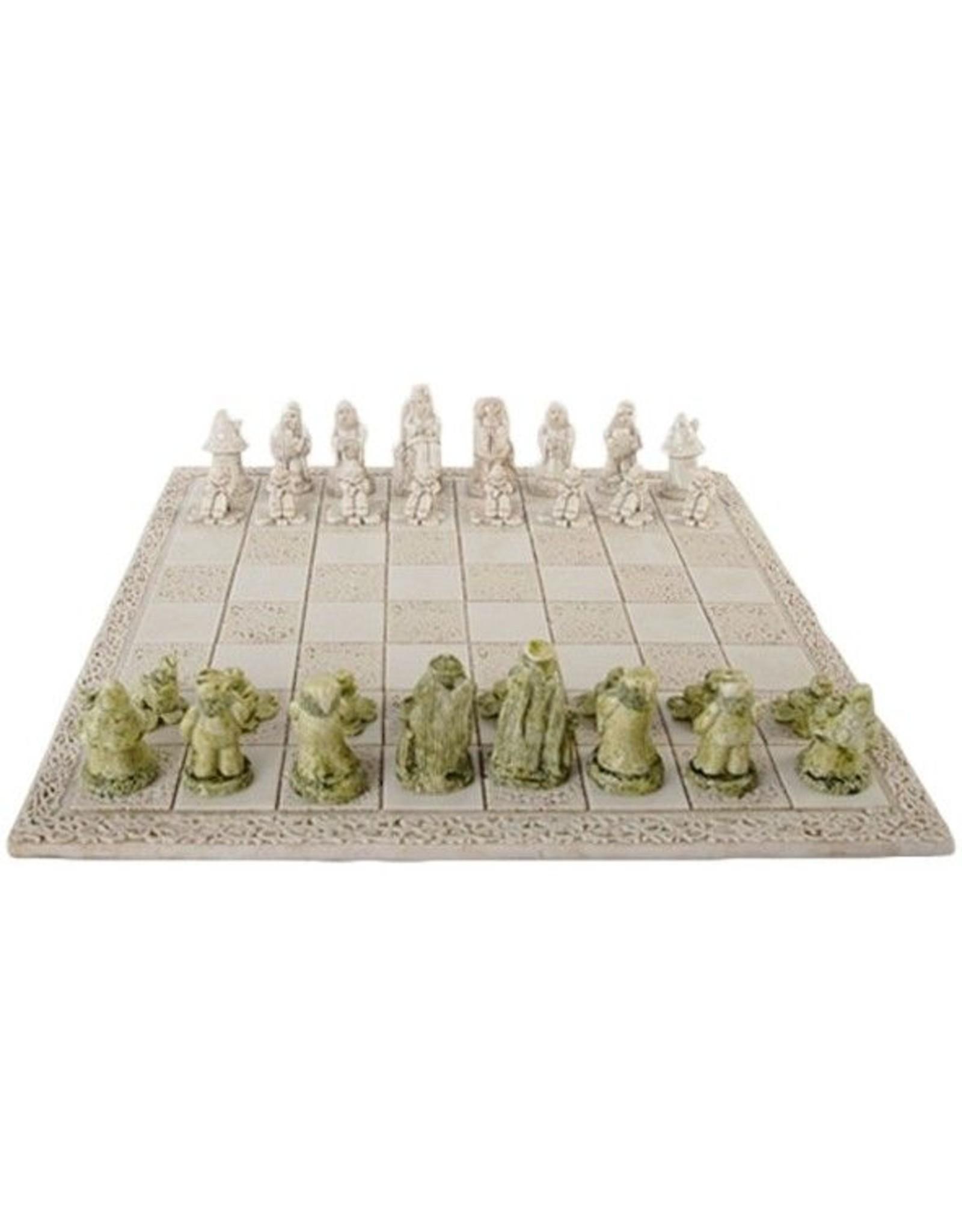 O'Gowna Handmade Leprechaun Chess Set