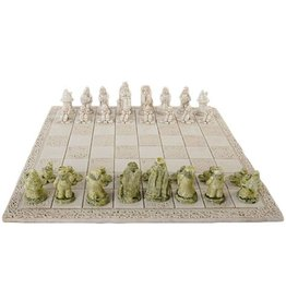 O'Gowna Handmade Leprechaun Chess Set