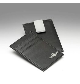 Mullingar Pewter Leather Credit Card Holder & Money Clip