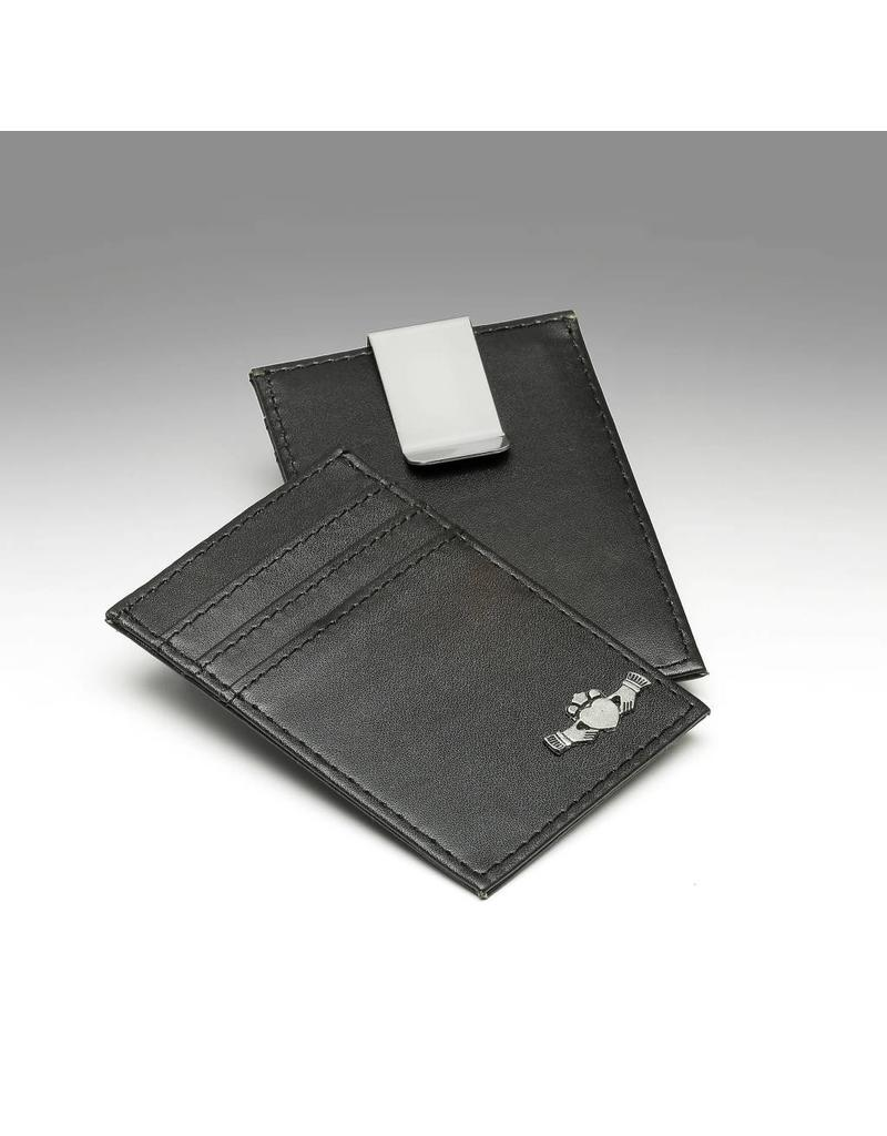 separation shoes 86bda 98a70 Mullingar Pewter Mullingar Pewter Leather Credit Card Holder & Money Clip