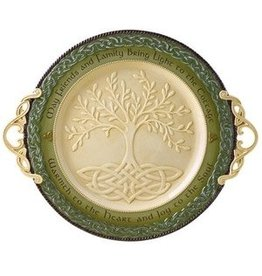 Grasslands Road Large Round Celtic Tree of Life Platter