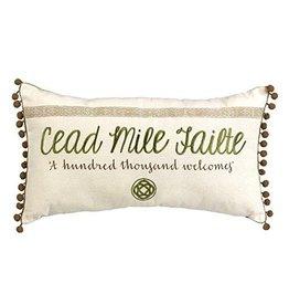 Grasslands Road Cead Mile Failte Pillow