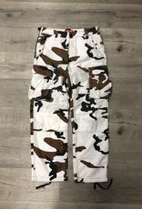 SUPREME BROWN SNOW CAMO PANT