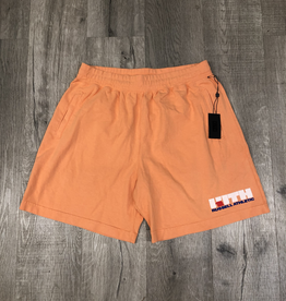 KITH RUSSELL ATHLETICS SHORTS ORANGE