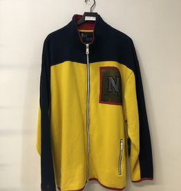 CLOTHES LIL YACHTY NAUTICA ZIP UP YELLOW FLEECE