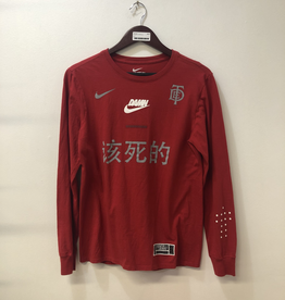 CLOTHES NIKE/TDE LONGSLEEVE (RED)