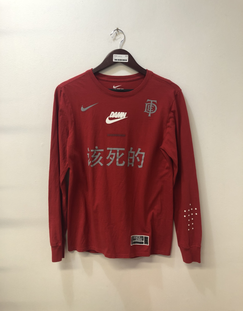 CLOTHES NIKE/TDE LONGSLEEVE (RED)