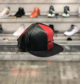 SUPREME LEATHER GREEN AND RED HAT