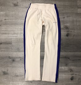 FASHION CRIMINAL PANTS CREAM/PURPLE