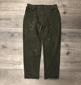 BANDULU LEVIS OLIVE TWILL PANTS