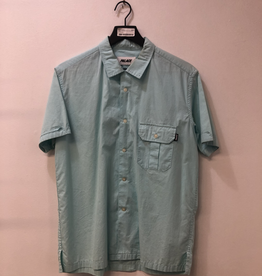 CLOTHES PALACE SHORT SLEEVE BUTTON DOWN SHIRT