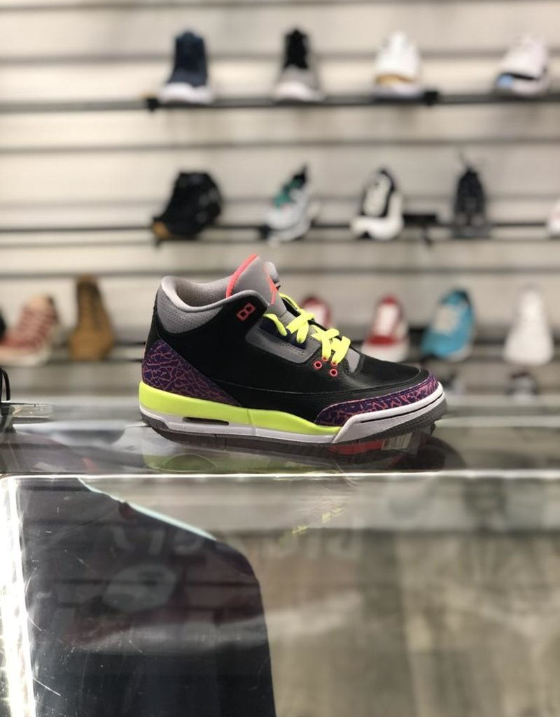 Sneakers AIR JORDAN 3 POISON