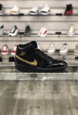 Sneakers AIR JORDAN 1 BLK/GLD (03)