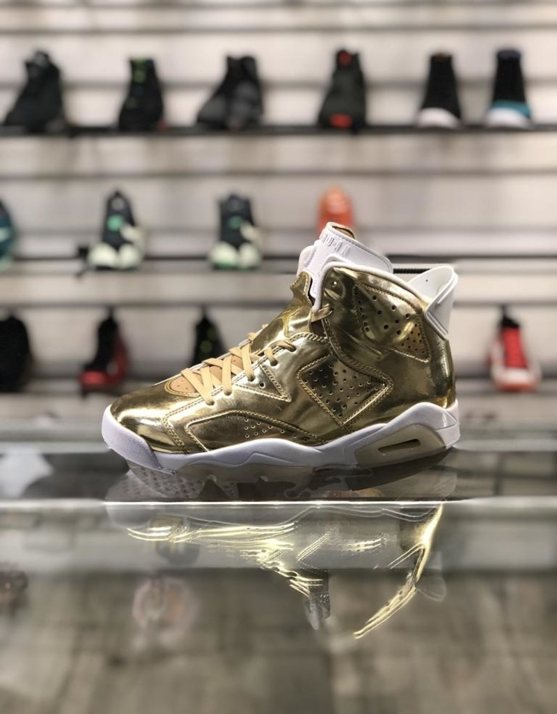 wholesale dealer 371e4 060cb AIR JORDAN 6 PINNACLE METALLIC GOLD