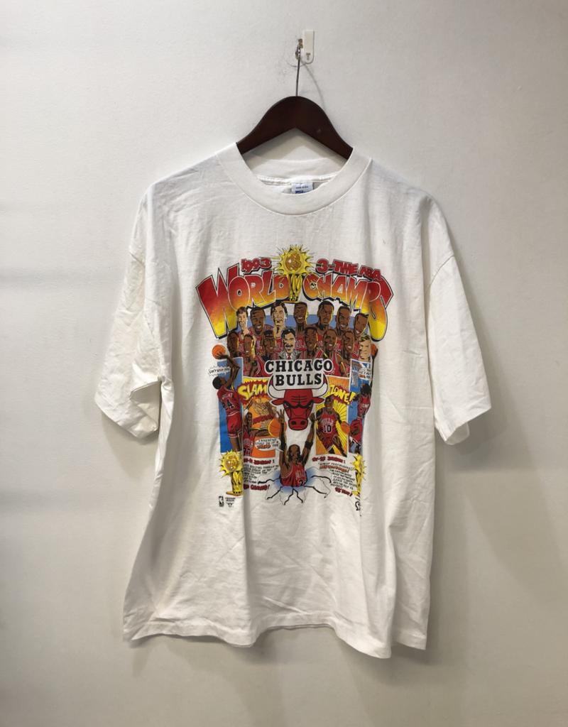 CLOTHES 1993 BULLS WHITE TEE SHIRT