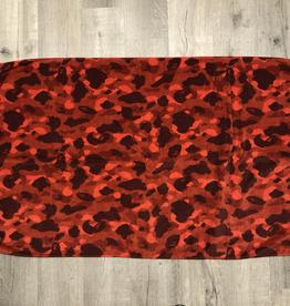 BAPE RED CAMO TOWEL