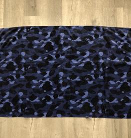 BAPE BLUE CAMO TOWEL