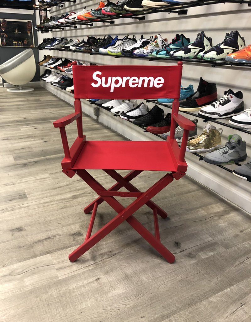 SUPREME DIRECTORS CHAIR RED