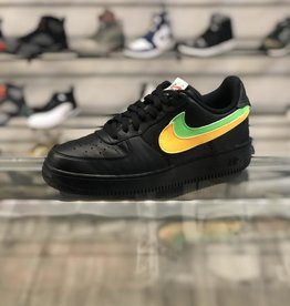 NIKE AIR FORCE ONE BLACK SWOOSH PACK