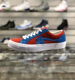 TYLER THE CREATOR CONVERSE GOLF LE FLUER RED BLUE