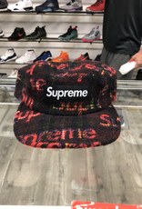 SUPREME RED FLANNEL WOOL CAMP