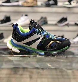 BALENCIAGA TRACK RUNNER GREEN/BLUE