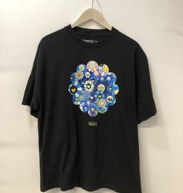 COMPLEXCON MURAKAMI TEE BLACK/BLUE FLOWERS