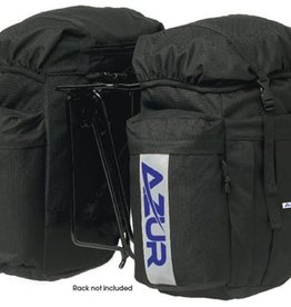 Azur Commuter Rear Panniers Black