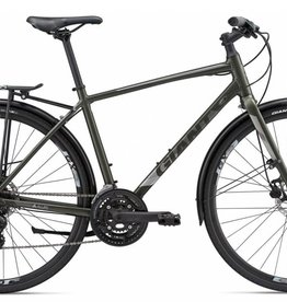 Giant Giant Cross City 2 Disc Equipped XS Dark Green 2018