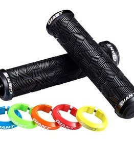 Giant Giant Tactal Double Lock-On  Grip Black