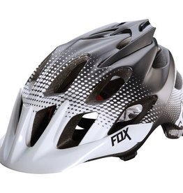 Fox Fox Flux Helmet Race 2015 White Black S/M
