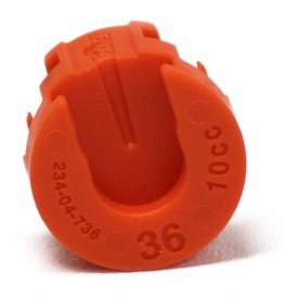 Fox Fox 36 2018 Volume Spacers Orange