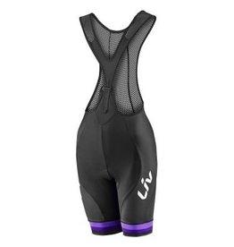 Liv Liv Race Day Bib Shorts Black/Purple Xs