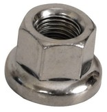 "Axle Nut Rear Coaster 3/8""x24T Flanged"