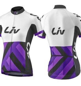 Liv Liv Race Day Ss Jersey Black/Purple Lg