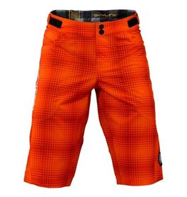 Troy Lee Designs tld Skyline Short Plaid Orange 34