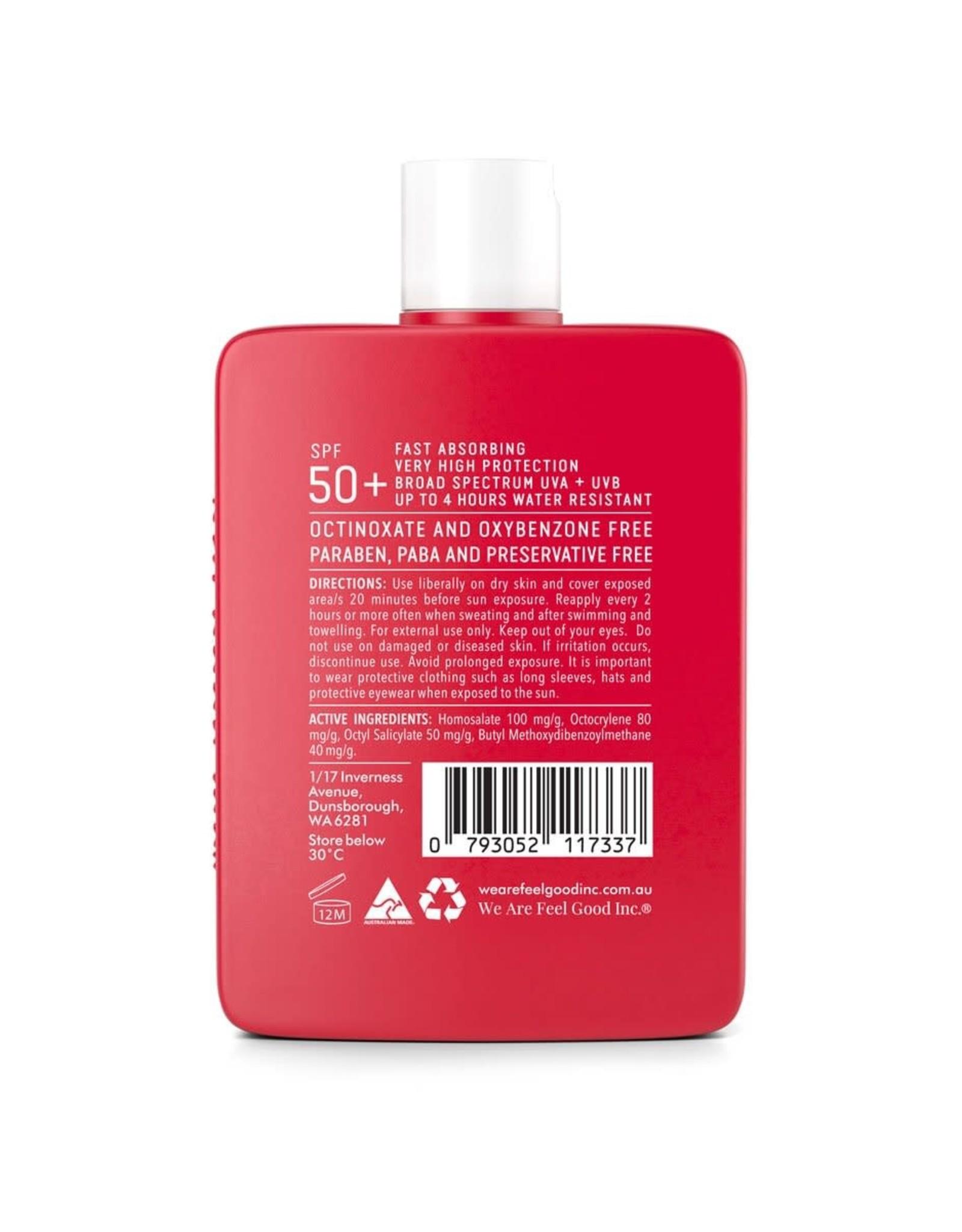 WE ARE FEEL GOOD INC Signature Sunscreen Lotion SPF 50+ 400ml