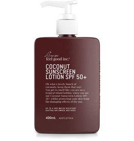 WE ARE FEEL GOOD INC Coconut Sunscreen Lotion SPF50+ 400ml