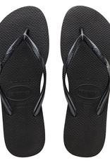 HAVAIANAS Slim Basic Black Thong