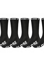 GLOBE Kids 5 Pack Socks Blackout 2-8
