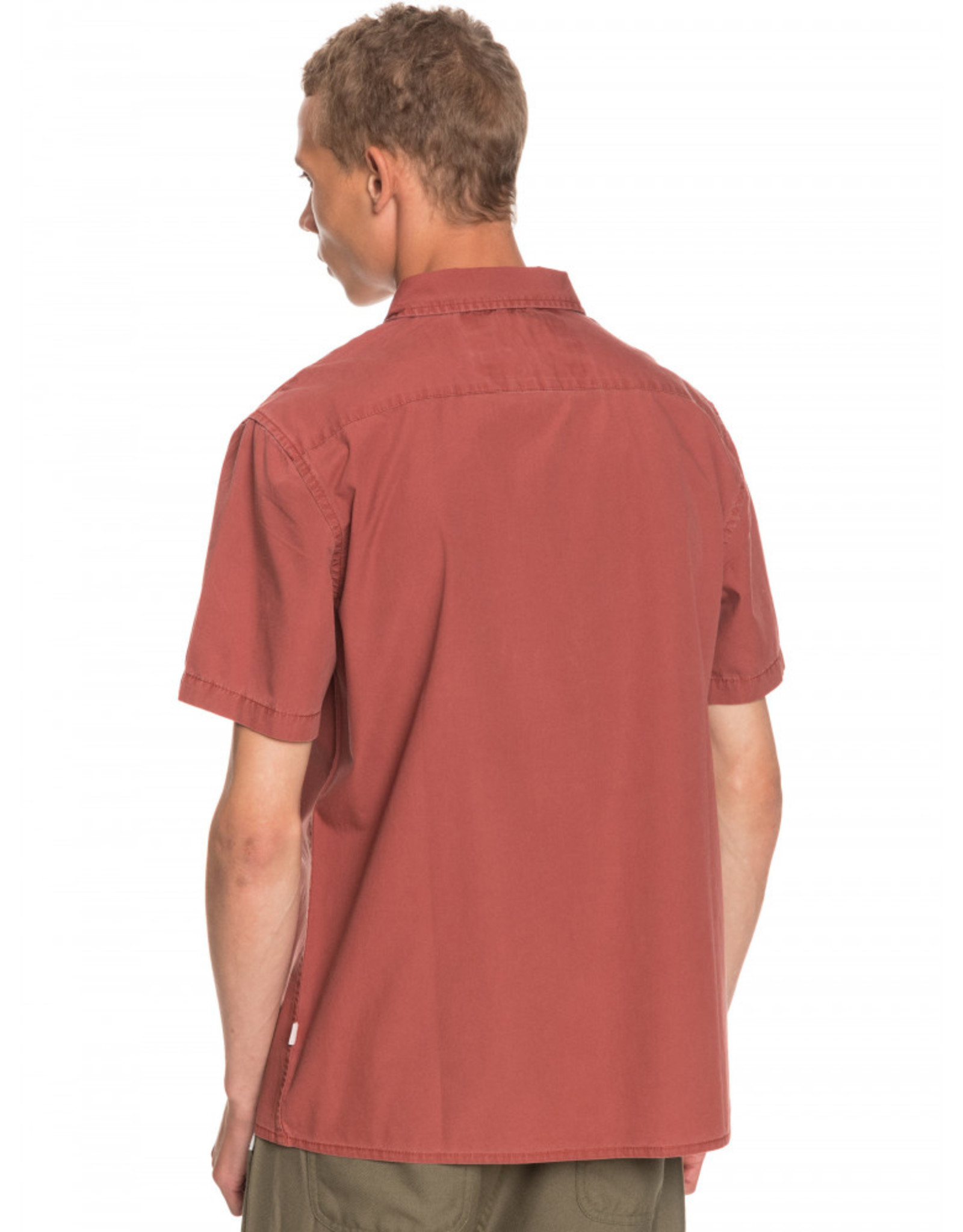 QUIKSILVER Taxer Wash SS Shirt