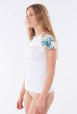 RIP CURL Tropic Shack Relaxed Short Sleeve Rash Vest - Size 14