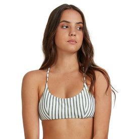 ROXY Printed Beach Classics Athletic Tri Bikini Top
