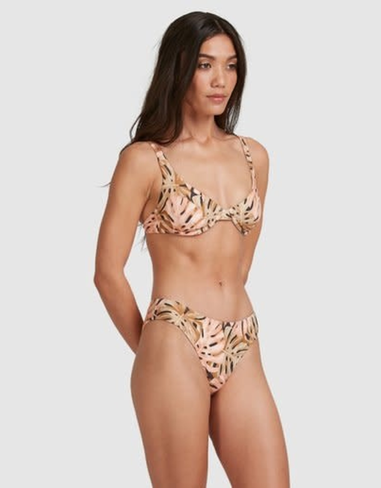 BILLABONG Hula Palm Bra Bikini Top - Size 14