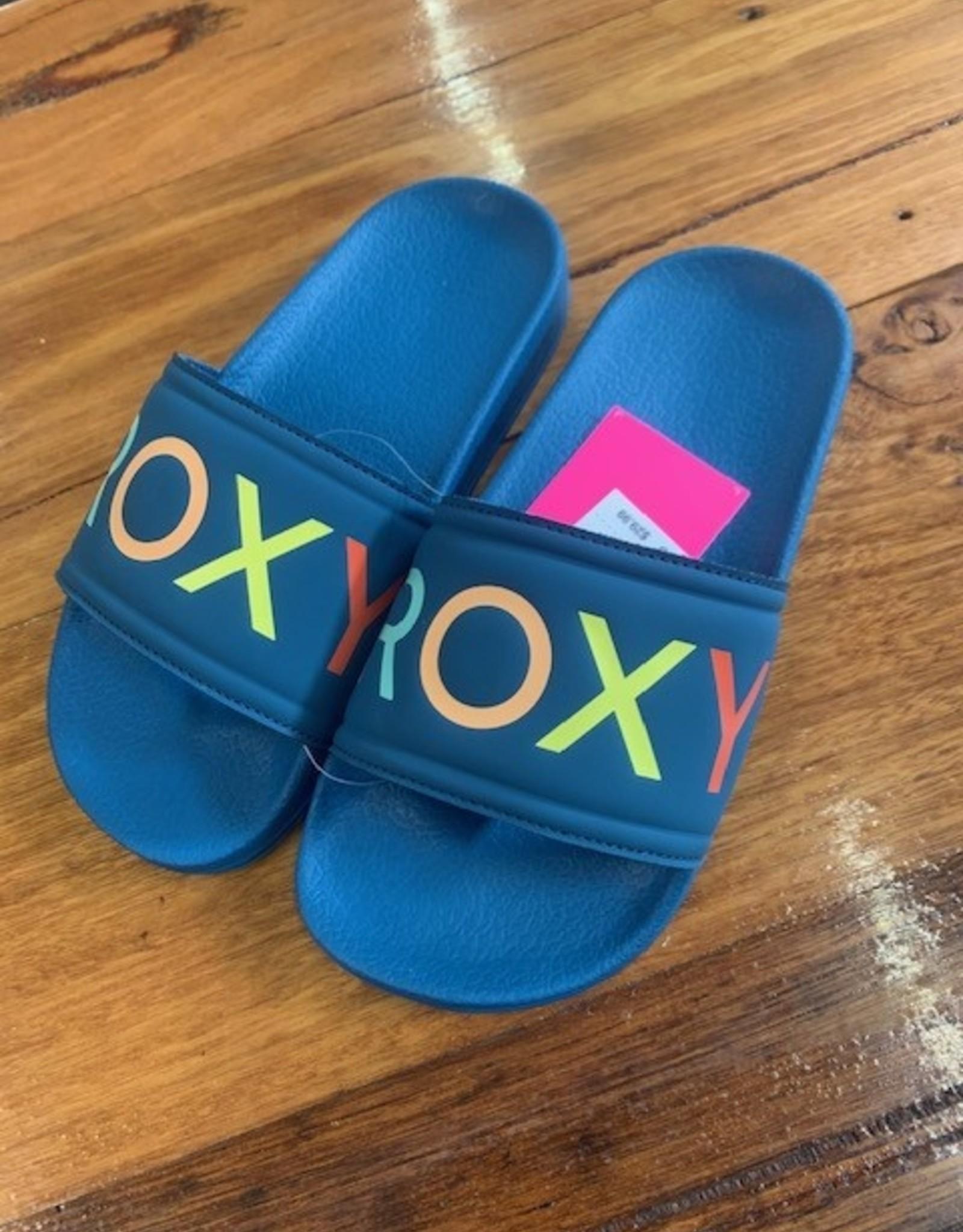 ROXY Girls Slippy Sliders - Size 3