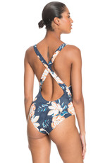 ROXY BU Lilies Surf Basic One Piece - Size XL