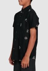 BILLABONG Boys Sunday Mini Short Sleeve Shirt - Size 16