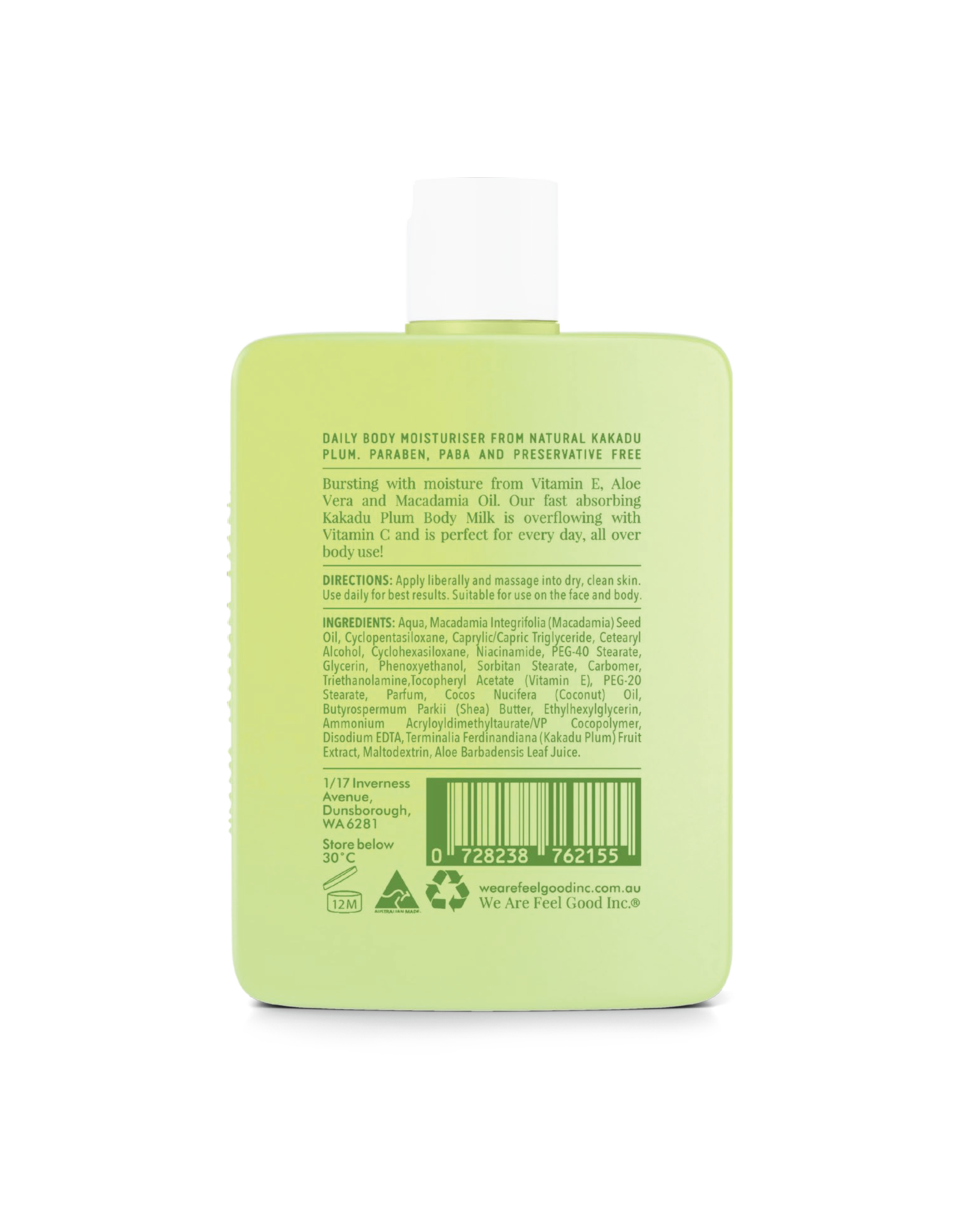 WE ARE FEEL GOOD INC Kakadu Plum Body Milk 200ml