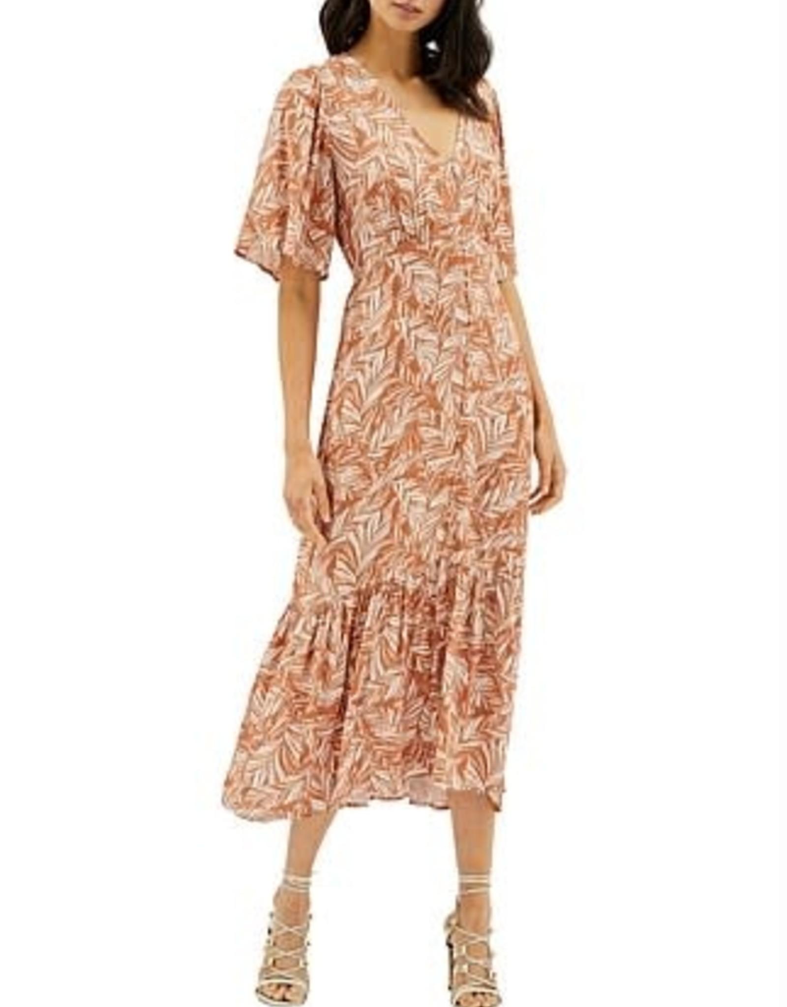 MINKPINK Katey Dozen Button Midi Dress
